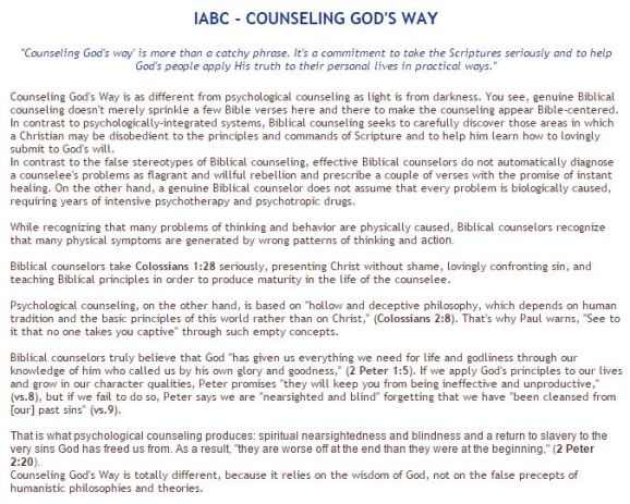 IABC statement